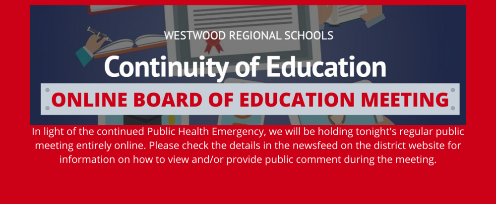 September 24: Board of Education Meeting