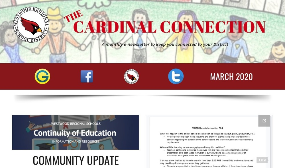 May/June Cardinal Connection