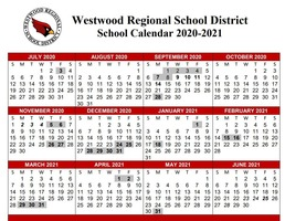 Calendar, Middle School Update & Survey