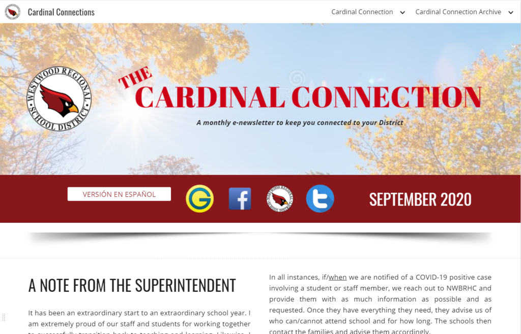 Cardinal Connection Logo