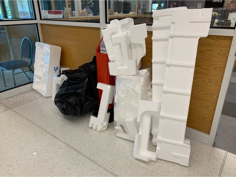 Styrofoam to be recycled
