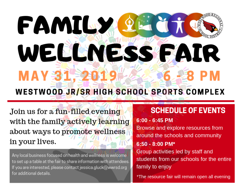 May 31 Wellness Fair Flyer