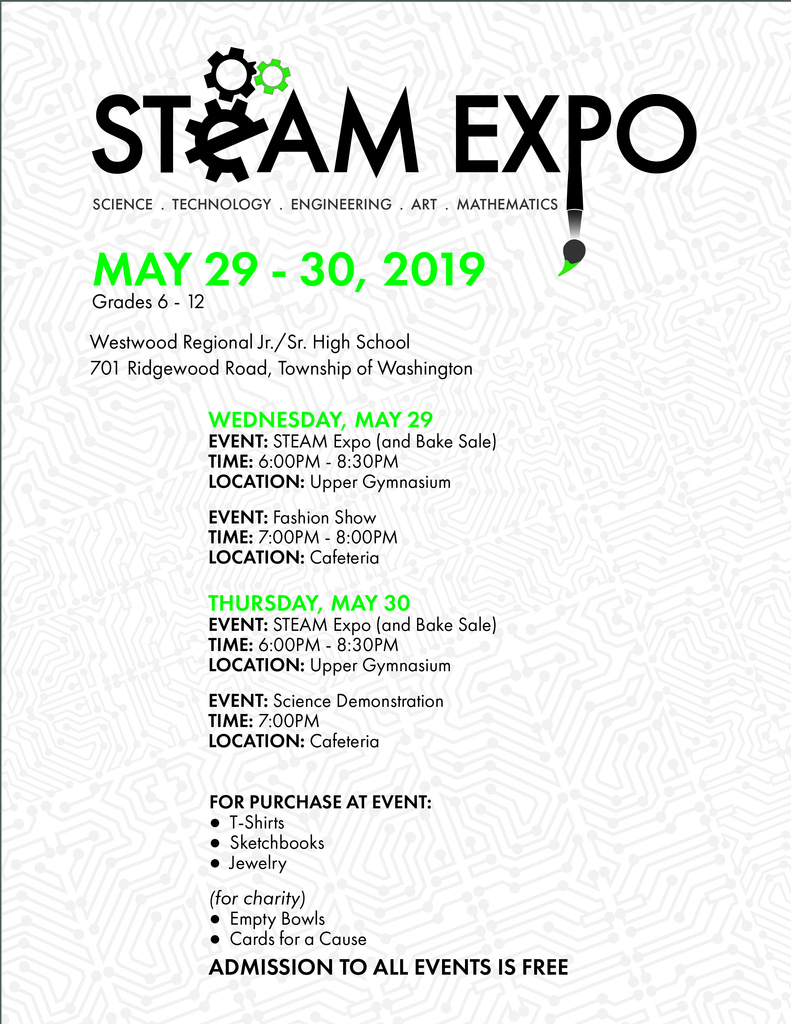 2019 WRSD STEAM Expo Flyter