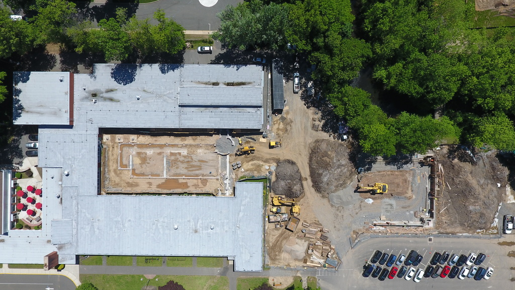 Aerial Pic of Middle School project