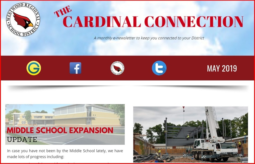 May Cardinal Connection Logo