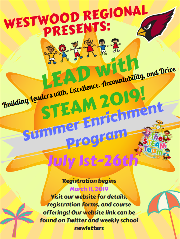 Summer Enrichment Flyer