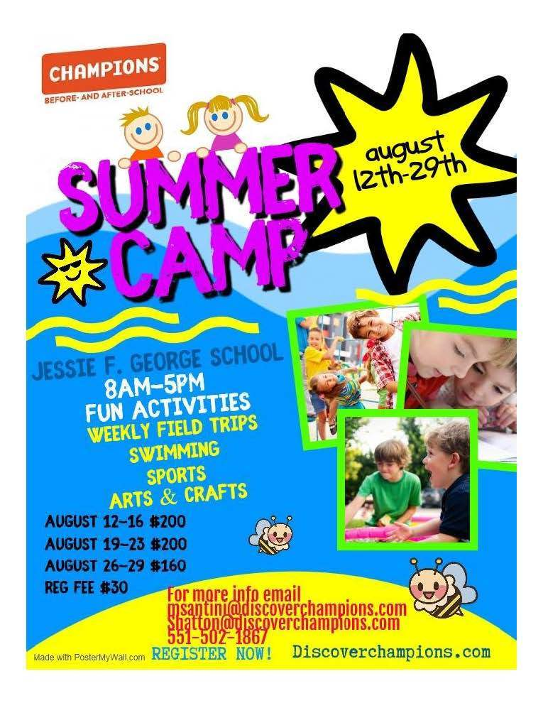 Champions Summer Camp