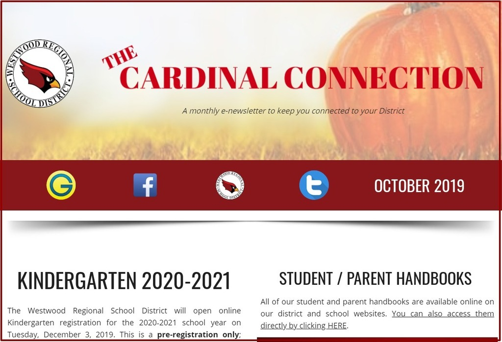 October 2019 Cardinal Connection