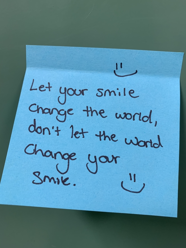 Smile change the world