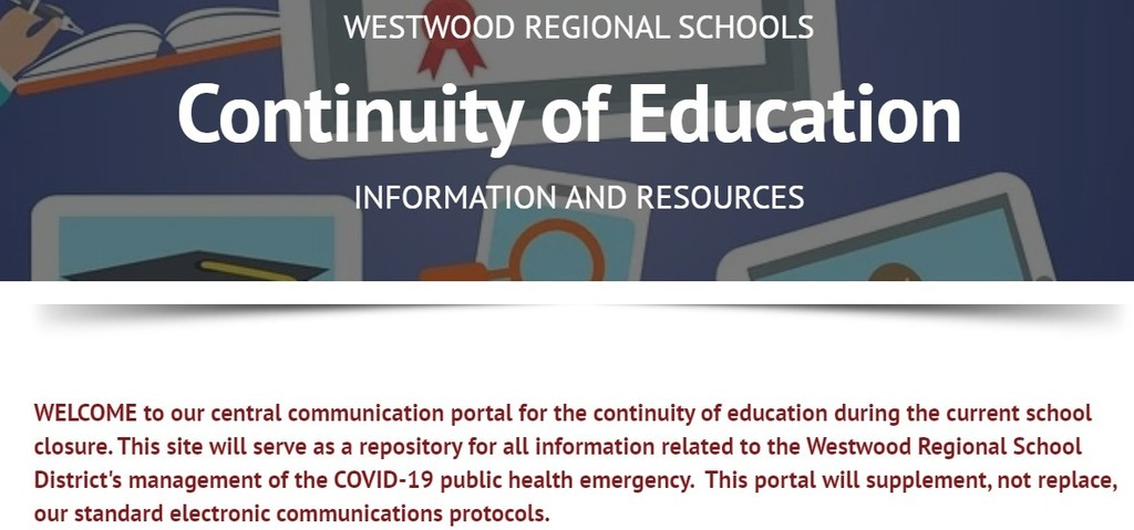 Continuity of Education Portal