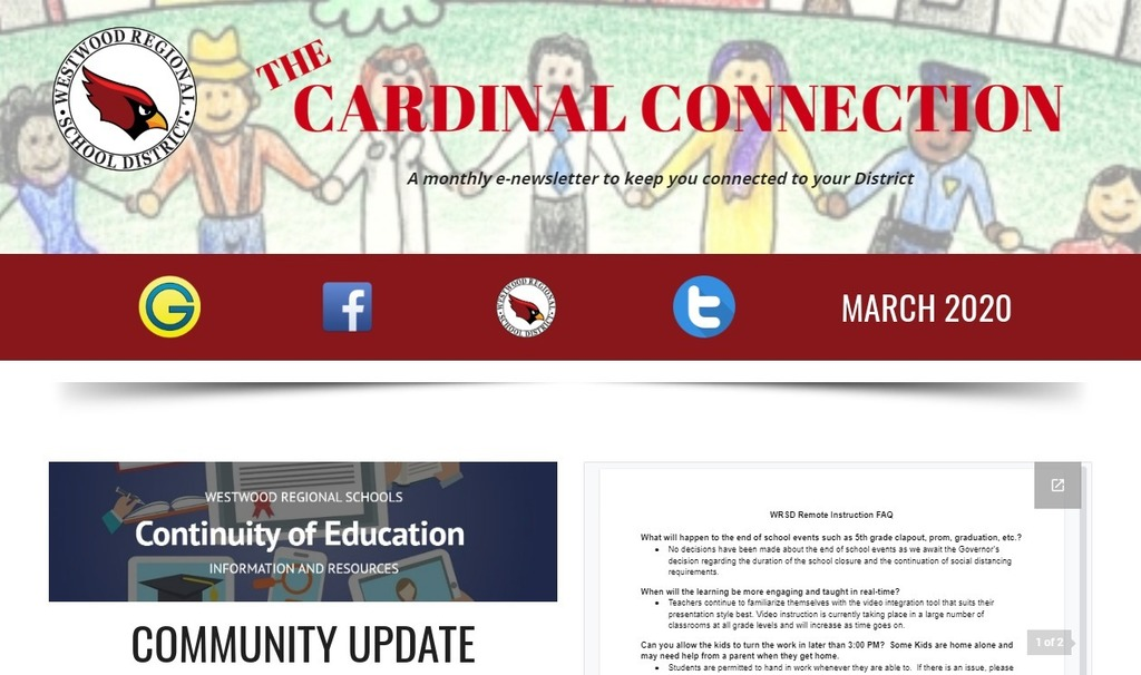March Cardinal Connection