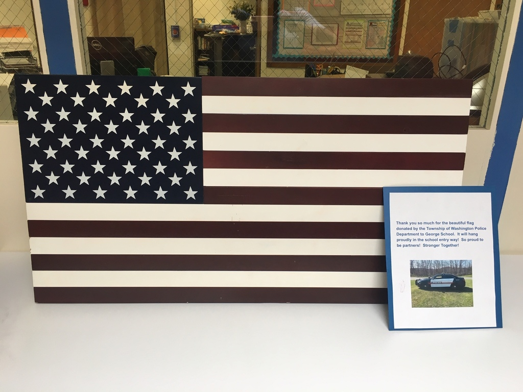 donated flag